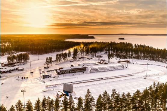 Kontiolahti Outdoorin järjestämien tapahtumien kotipesä on Kontiolahden ampumahiihtostadion. Kuva: Sami Vuomajoki.